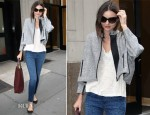 Miranda Kerr In Dries Van Noten & Current/Elliott - Juvenex Spa