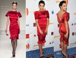Naya Rivera In Moschino - 23rd Annual GLAAD Media Awards