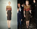 Nicole Kidman In Erdem - Tod's Private Dinner