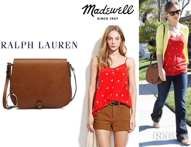 Ralph Lauren Saddle Shoulder Bag 85