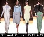 Roland Mouret Fall 2012