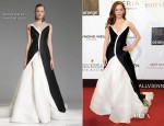 Rose McGowan In Donna Karan - Orange Filmball