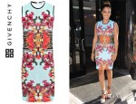 La La Anthony's Givenchy Bird of Paradise Dress