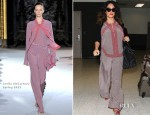 Salma Hayek In Stella McCartney - LAX