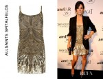 Sandra Bullock's All Saints Eagle Dress