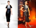 Sonam Kapoor In Prabal Gurung - Maxim's 6th Anniversary Party
