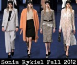 Sonia Rykiel Fall 2012