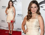 Sophia Bush In Katharine Kidd - Cocktail Reception Honoring Richard O'Barry