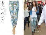 Victoria Justice's Rag & Bone Surf Knit Leggings