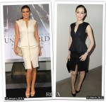 Who Wore Ted Baker Better? Carmen Electra or Emmy Rossum