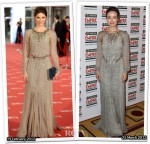 Who Wore Carolina Herrera Better? Manuela Velasco or Olivia Wilde