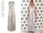 Whitney Port's All Saints Heather Maxi Dress