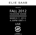 Elie Saab Fall 2012 Live Stream