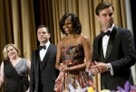 Michelle Obama In Naeem Khan - 2012 White House Correspondents' Association Dinner