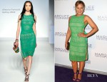 Abbie Cornish In Alberta Ferretti - Marquee At The Star Opening