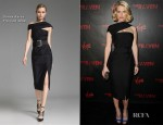 Alice Eve In Donna Karan - 'The Raven' LA Premiere