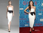 Allison Williams In Donna Karan - 'Girl' New York Premiere
