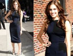 Allison Williams In Victoria Beckham - Late Show With David Letterman