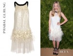 Amanda Seyfried's Prabal Gurung Hand Embellished Sequin Tulle Dress