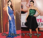 Best Dressed Of The Week - Angelababy In Elie Saab & Emily Blunt In Jason Wu