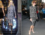 Anna Wintour In Versace - 'Evita' Opening Night