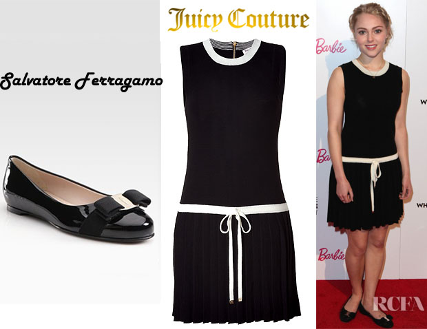 AnnaSophia Robb Juicy Couture Salvatore Ferragamo