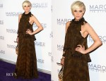 Ashlee Simpson In Roberto Cavalli - Marquee At The Star Opening