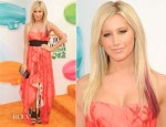 Ashley Tisdale In Kymerah - 2012 Nickelodeon Kids' Choice Awards