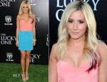 Ashley Tisdale In Naven - 'The Lucky One' LA Premiere