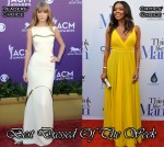 Best Dressed Of The Week - Taylor Swift In J. Mendel & Gabrielle Union In Bill Blass