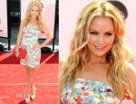 Becki Newton In Erdem - 'The Three Stooges' LA Premiere