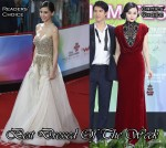 Best Dressed Of The Week - Angelababy In Barney Cheng & Fan Bingbing In Tadashi Shoji
