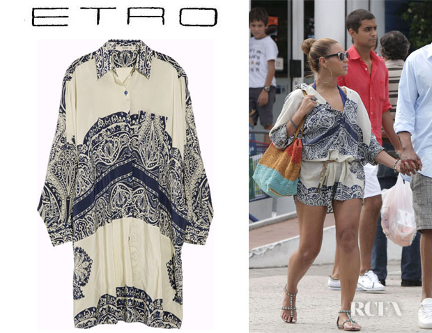 Beyonce Knowles Etro
