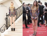 Blanca Suarez In Balmain - 15th Malaga Film Festival