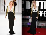 Brooklyn Decker In J. Mendel - 'Battleship' Sydney Premiere