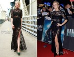 Brooklyn Decker In femme d'armes - 'Battleship' Seoul Premeire