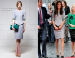 Catherine, Duchess of Cambridge In Matthew Williamson - 'African Cats' London Premiere