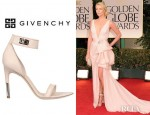 Charlize Theron's Givenchy Nappa And Suede Sandals