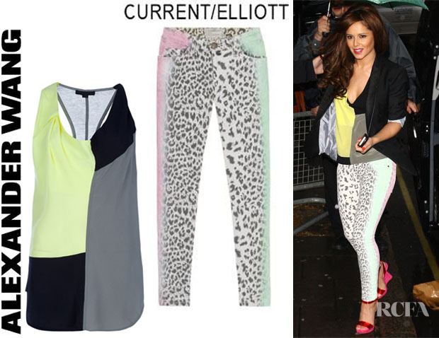 Cheryl Cole Alexander Wang CurrentElliott