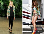 Cheryl Cole In Altuzarra & Dolce & Gabbana - 'Call My Name' Video Shoot