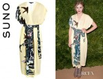 Chloe Moretz' Suno Bird Lady Wrap Dress