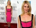 Claire Danes In Narciso Rodriguez - 'Hysteria' Tribeca Film Festival Premiere