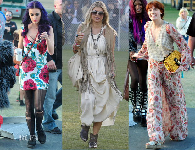 Coachella Music Festival 2012 Red Carpet Fashion Awards