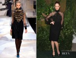 Coco Rocha In Fendi - 2012 Bid To Save The Earth: The Green Auction