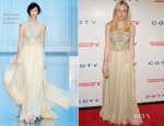 Dakota Fanning In Elie Saab Couture - 6th Annual DKMS Linked Against Blood Cancer Gala