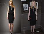 Dakota Fanning In Elie Saab - Elie Saab Private Dinner Party