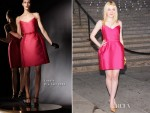 Dakota Fanning In Lanvin - 2012 Tribeca Film Festival Vanity Fair Party