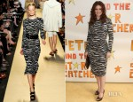 Debra Messing In Michael Kors - 'Peter and the Starcatcher' Broadway Opening Night