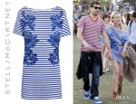 Diane Kruger's Stella McCartney Palm Blurred Print Dress
