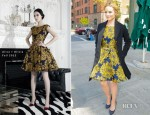 Dianna Agron In Alice + Olivia - 'The View'